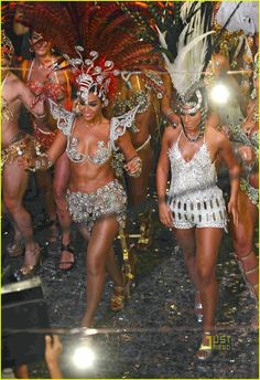 See Through Samba Costumes | Samba Outfits