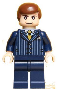 Breaking Bad Lawyer Saul Goodman Lego Minifigure