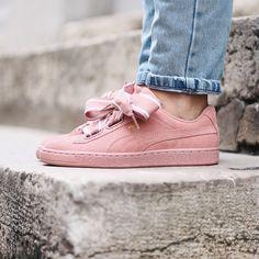 Puma - Heart Satin II. Harper Store - Clothing & Sneakers. Puma, Sneakers Women, Vans Old Skool, Satin, Store, Heart, Clothing, Fashion, Man Women