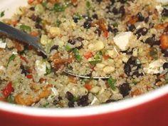 Spotlight Recipe: Sweet Potato Quinoa  from  Food Network