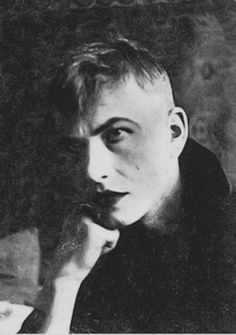 equinoxes: german-expressionists: Otto Dix about 1919/20 at a masked ball