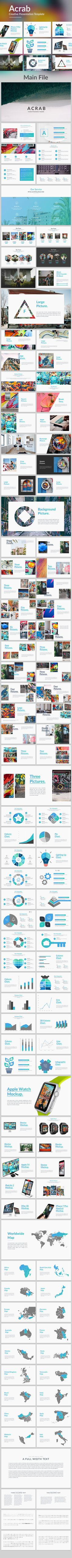 Acrab - Creative Powerpoint Template