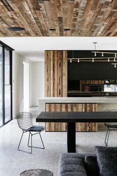 Recycled Wood Stars in an Ogle-Worthy Renovation in Australia - Dwell