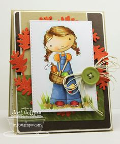 Doodle Garden Happy Harvest; Autumn Wreath Die-namics; Pierced Rectangle STAX Die-namics; Blueprints 5 Die-namics; Blueprints 6 Die-namics - Jodi Collins