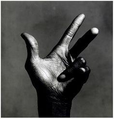 The Hand of Miles Davis – 1986 Irving Penn
