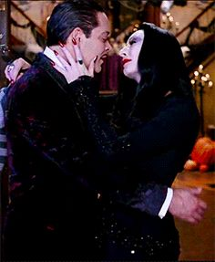love kiss otp the addams family raul julia