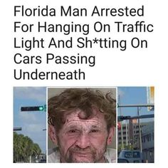 Florida man memes are viral now on social media and internet. We listed the best collection of Florida man memes here. Really Funny Memes, Stupid Funny Memes, Funny Relatable Memes, Funny Posts, Haha Funny, Hilarious, Funny Stuff, Stupid People Funny, Hilarious Pictures