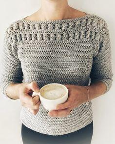 Crochet Sweater Pattern PDF - Sand Dunes Jumper and Tee Grunge Look, 90s Grunge, Grunge Style, Soft Grunge, Grunge Outfits, Pull Crochet, Learn To Crochet, Hand Crochet, Knit Crochet