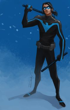 Mike Ballan, Nightwing & Robin / The Red Hood Redesigns ...
