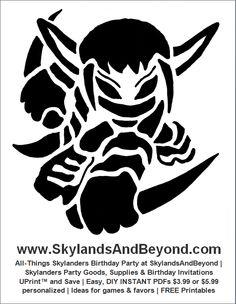 Printable Skylanders Coloring Pages
