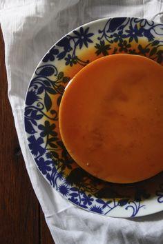 Almond Orange Flan