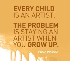 Great quote by Picasso
