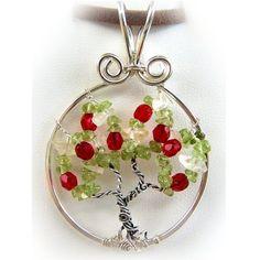 Wire Wrap lección árbol de la vida colgante joyas por FashionWire