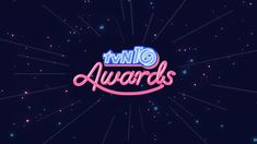 Client - tvN Role - design & animation Special Thanks - Kim Jiseon Awards, Typography, Thankful, Neon Signs, Animation, Concept, Illustration, Design, Dark