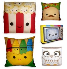 Pillows, for my kids... or for me!!!! =3