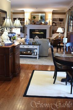 refinish undesirable pieces of furniture and accessorize . . .
