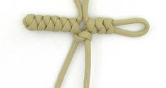 A tutorial on the snake knot paracord cross. Snake Knot Paracord, Ropes, Diy Tutorial, Anchor, Projects To Try, Bracelets, Twine, Knots, Cords