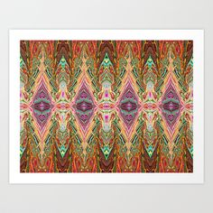 Abstract: Rediscover Art Print by Sonia Marazia - $15.60