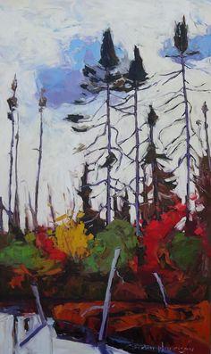 Art Gallery   Peaks & Rafters-Gordon Harrison