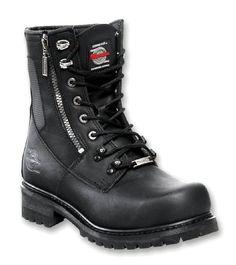 Milwaukee Motorcycle Clothing Company Trooper Size 7C Black Leather pepkick.com