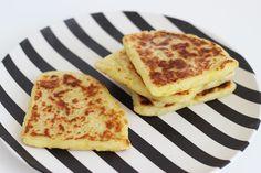 potato scones écossais (à base de farine et pomme de terre, un peu comme des gnocchis)