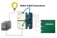 ACS758 Arduino Tutorial Connections