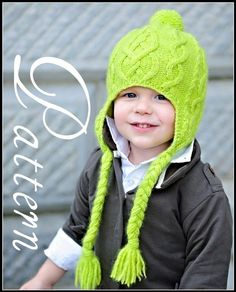 make your own Sweet 'n Sour Apple Hat DIGITAL by MakeTotToppers Baby Knitting Patterns, Baby Patterns, Hand Knitting, Silly Hats, Knit In The Round, How To Purl Knit, Crochet Yarn, Knitted Hats, Apple