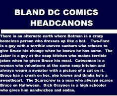 The dick Grayson part was my favorite