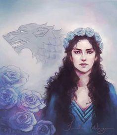 Lyanna Stark by Imperfect Soul #ASOIAF #GoT #HouseStark
