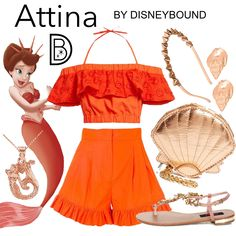DisneyBound is meant to be inspiration for you to pull together your own outfits which work for your body and wallet whether from your closet or local mall. As to Disney artwork/properties: ©Disney Disney Character Outfits, Disney Themed Outfits, Character Inspired Outfits, Disney Bound Outfits, Little Mermaid Outfit, The Little Mermaid, Disney Inspired Fashion, Disney Fashion, Fashion Outfits