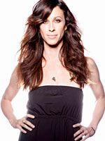 Alanis Morissette talks about overcoming an eating disorder and gives us her healthy lifestyle tips. You Oughta Know, Alanis Morissette, Timeless Beauty, Amazing Women, Camisole Top, Product Launch, Long Hair Styles, Disney Princess, Formal Dresses