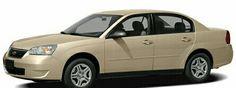 2007 Cream White Chevrolet Malibu