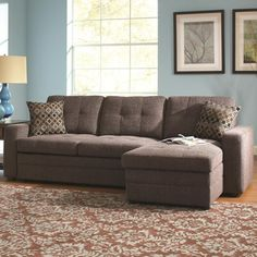 1000 ideas about sectional sleeper sofa on pinterest for Gus sectional sofa with tufts storage and pull out bed