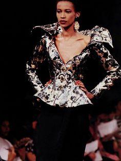 1989-90 - Yves Saint Laurent Couture Show -