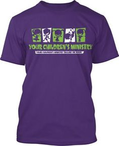 Childrens Ministry Logo T-Shirt Design #145