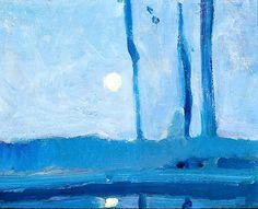 Arthur B. Carles / Moonlight,  c. 1908