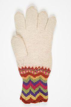 Estonian knitted glove