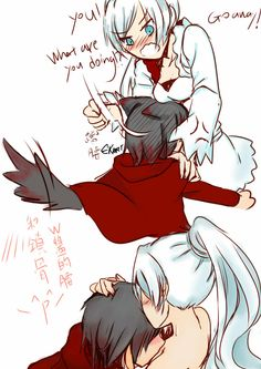 RWBY, White Rose, Ruby Rose x Weiss Schnee