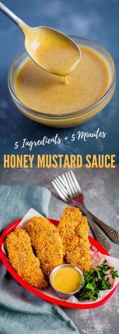 Homemade Honey Mustard Sauce