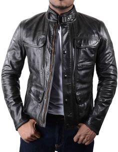 Matchless Antique Black Kensington Leather Jacket | Accent Clothing