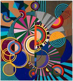 Club tropicalia: the mesmerising power of Brazilian art Geometric Shapes Art, Abstract Geometric Art, Abstract City, Abstract Painters, Painting Abstract, Geometric Designs, African Abstract Art, African Art, Painting Art