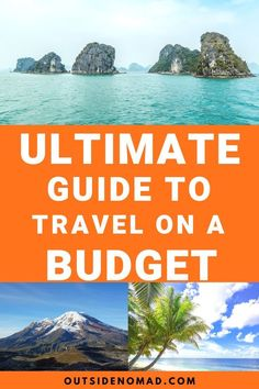 9 cheap travel tips to keep you on the road longer. These fun and frugal travel tips will make your budget last longer. Planning a cheap trip is easier than you think. Learn how to save on travel and how travel hacking can save you tons. Packing List For Travel, Travel Tips, Travel Destinations, Travel Hacks, Budget Travel, Europe Budget, Packing Tips, Travel Essentials, Travel Ideas