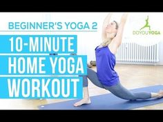 10-Minute Yoga for Beginners Class (VIDEO)