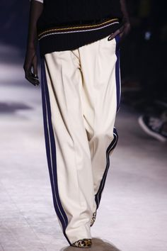 Heavy track pantsDries Van Noten Fall 2016 Ready-to-Wear Fashion Show Details