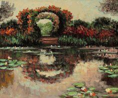 Monet - Blutentore in Giverny - overstockArt.com