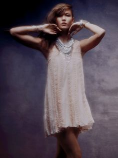 Free People FP ONE Foiled Annabella Dress at Free People Clothing Boutique