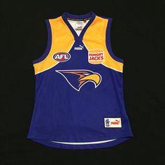West Coast Eagles 2006 AFL Football Puma Hungry Jacks Jumper Jersey Mens Medium  | eBay