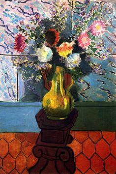 Dahlias / Henri Matisse - 1928