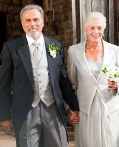 Vanessa Redgrave Franco Nero...fell in love in 1967, later married others, then came back together and married in 2006. Love endures.