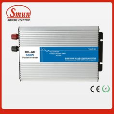 101.00$  Buy here - http://aliili.worldwells.pw/go.php?t=32657838293 - 500W 24VDC to 220VAC pure sine wave inverter with UPS function for solar panel and home appliances 101.00$